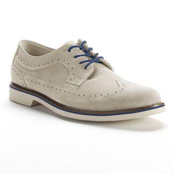 Chaps Wingtip Oxford Shoes - Men