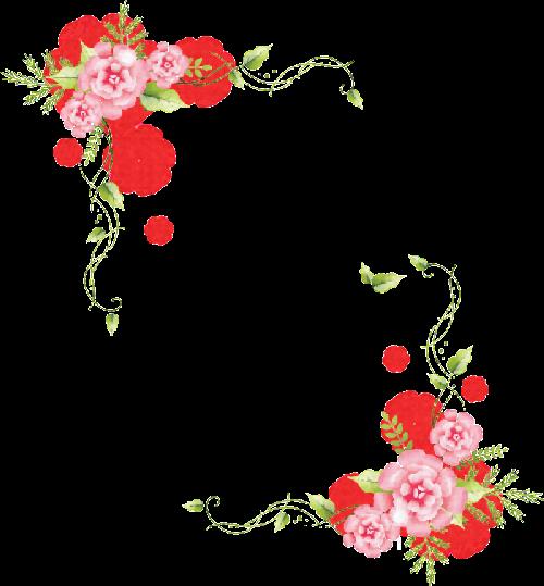 Scrap Rosas Vintage Arte Para Decoracion Ilustraciones Hand Painted Flowers Borders And Frames Background Design