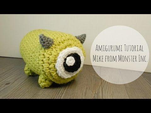 Amigurumi Monsters Inc : Amigurumi tsum tsum mike monster inc crochet amigurumi monsters