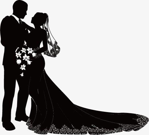 Creative Wedding Silhouette Bride Clipart Bride And Groom Wedding Png Transparent Clipart Image And Psd File For Free Download Silhueta De Casamento Noivo De Casamento Lembrancinhas De Casamento Noivinhos