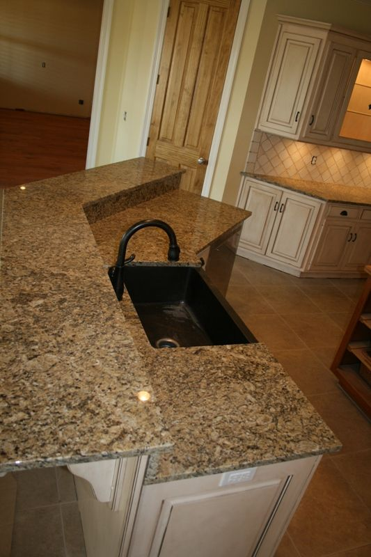 New Venetian Gold Granite And The Same Color On The Island Is What We Are  Thinking