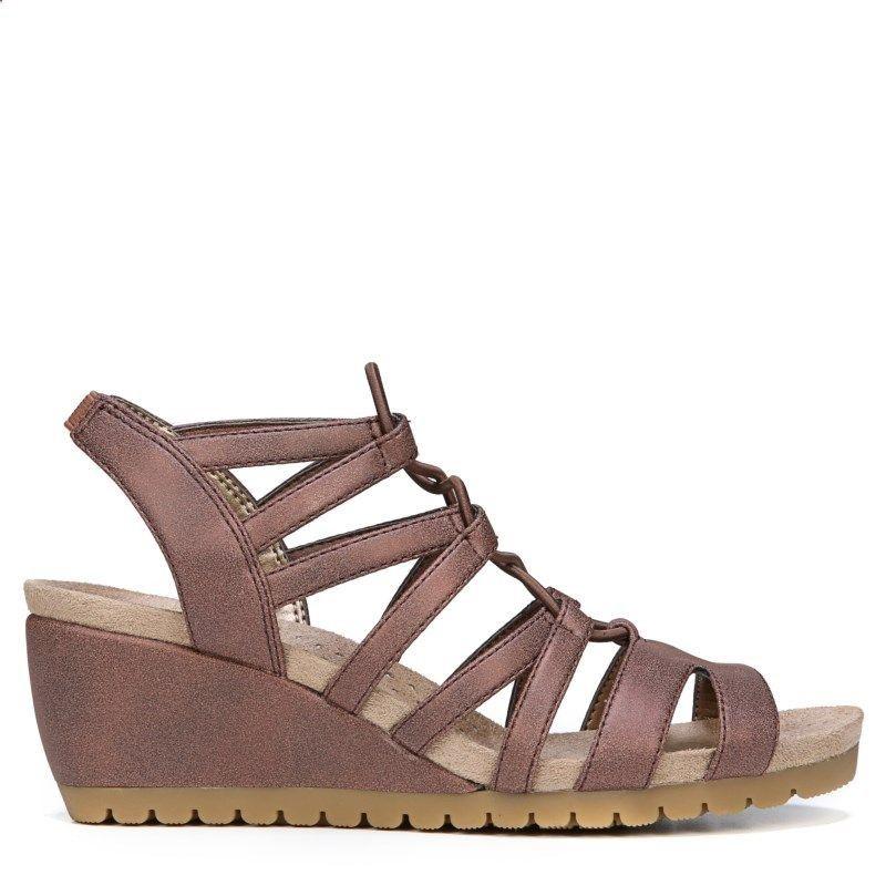 cae52134ffda Women s Sandals -  womenssandals - Lifestride Womens Nadira Medium Wide  Wedge Sandals (Bronze