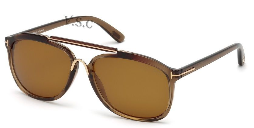 3a8d9a229f48f 50H - dark brown other   brown polarized Tom Ford Sunglasses