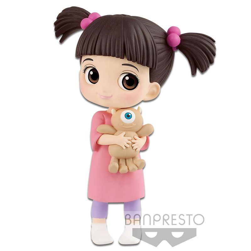 Jessie Merida Boo set of 3 Q posket petit figure PIXAR Characters Banpresto NEW