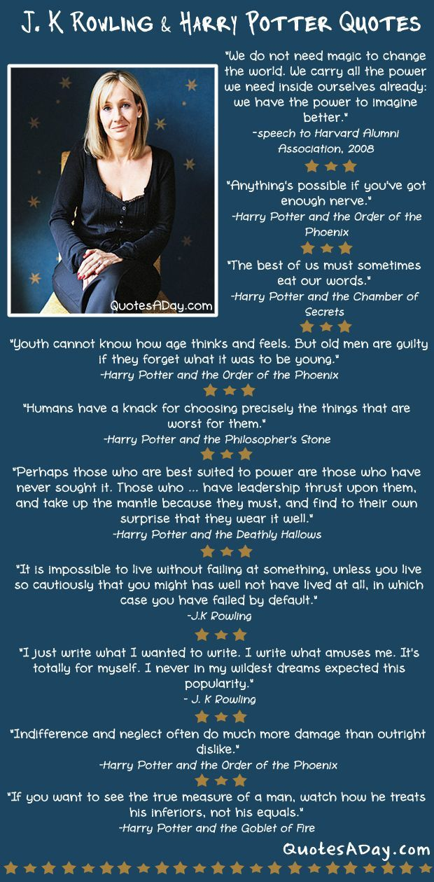 Harry Potter World Quotes With Images Rowling Quotes