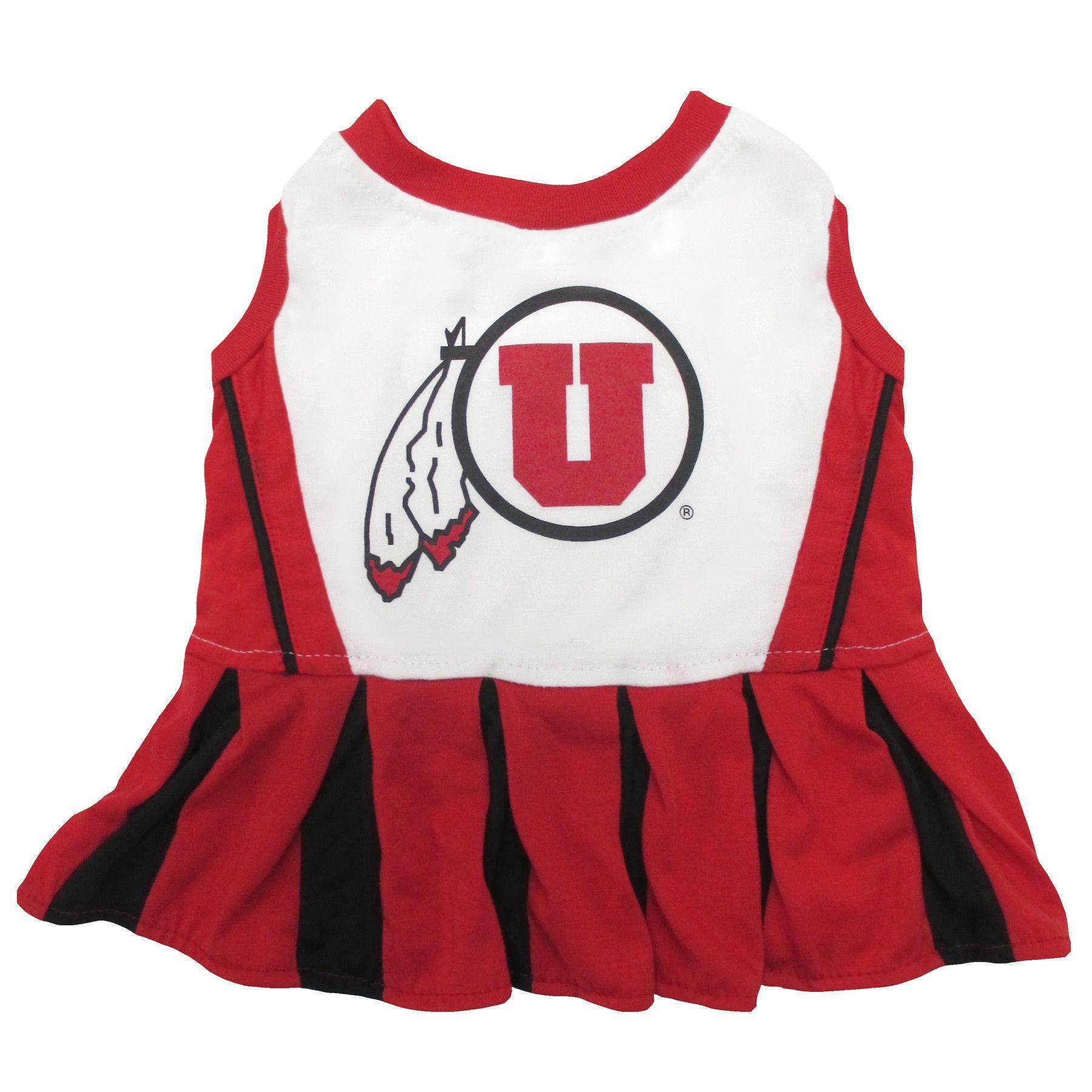 University of Utah Utes Cheerleader Pet Dress
