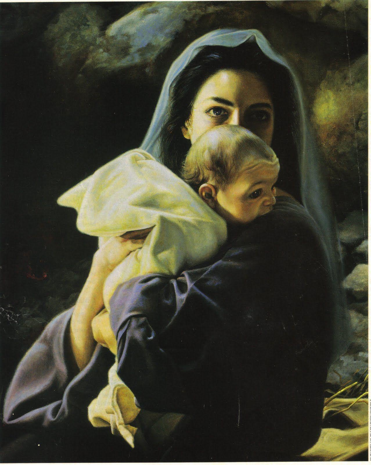 Pin by Carol Luethi Melberg on My Faith Mary and jesus