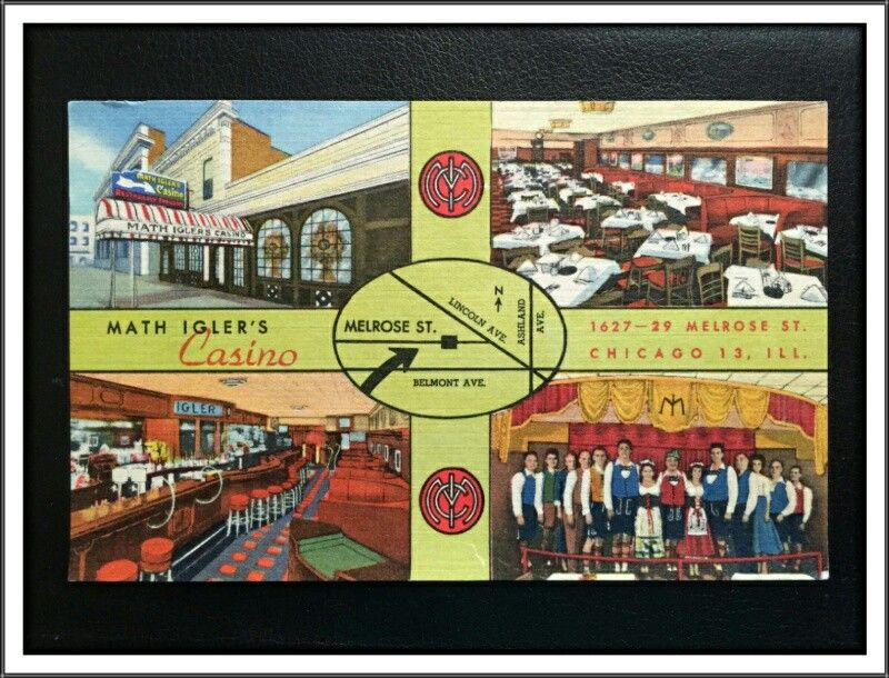 Math Igler S Home Of The German Singing Waiters Smokey Mountains Sioux City Chicago