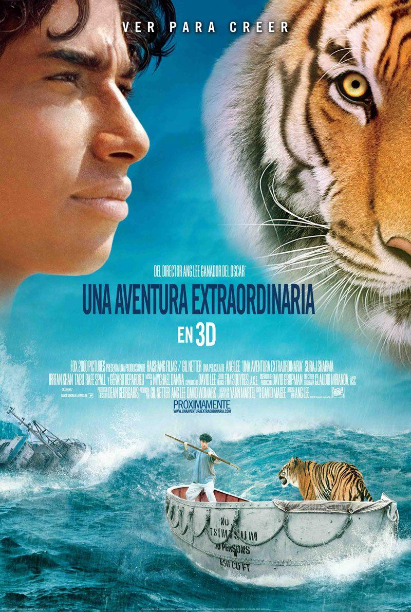 La Pelicula Una Aventura Extraordinaria Life Of Pi En Ingles Y La Vida De Pi En Español Es Una Emocionante Histo Life Of Pi Life Of Pi Film Cinema Movies
