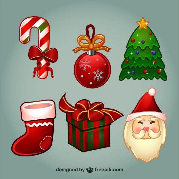 Conjunto De Dibujos De Navidad A Color V Free Vector Freepik Freevector Freenavidad Freearbol Nav Dibujos De Navidad Dibujo De Navidad Vectores Gratis