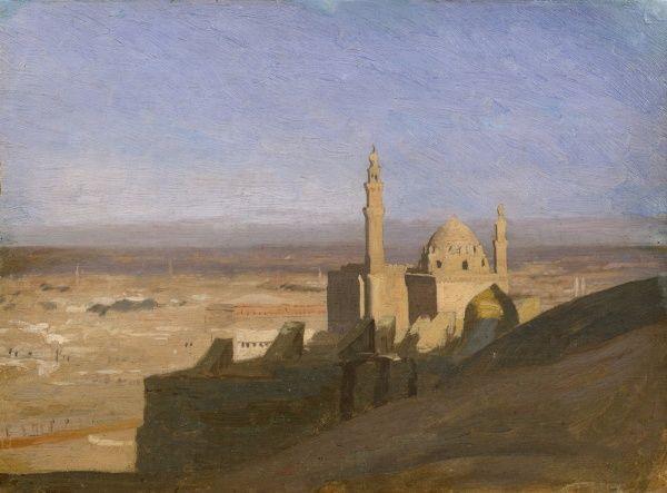 Jean-Léon Gérôme - Vue du Caire, circa 1861-62