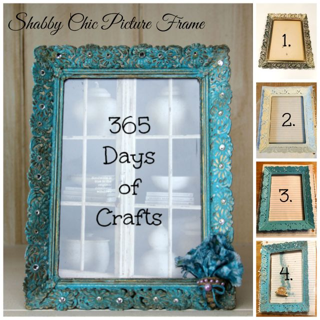 DIY Shabby Chic or Farmhouse Chic Picture Frame | Pinterest | Decoración