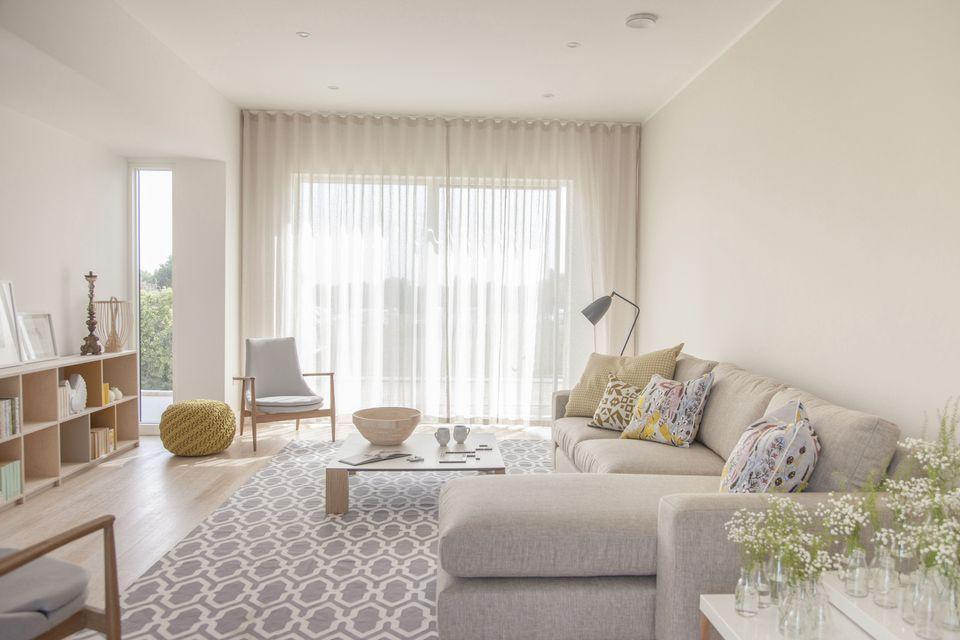 soggiorno-piccolo-idee-arredo- | Soggiorni nel 2019 | Tende ...