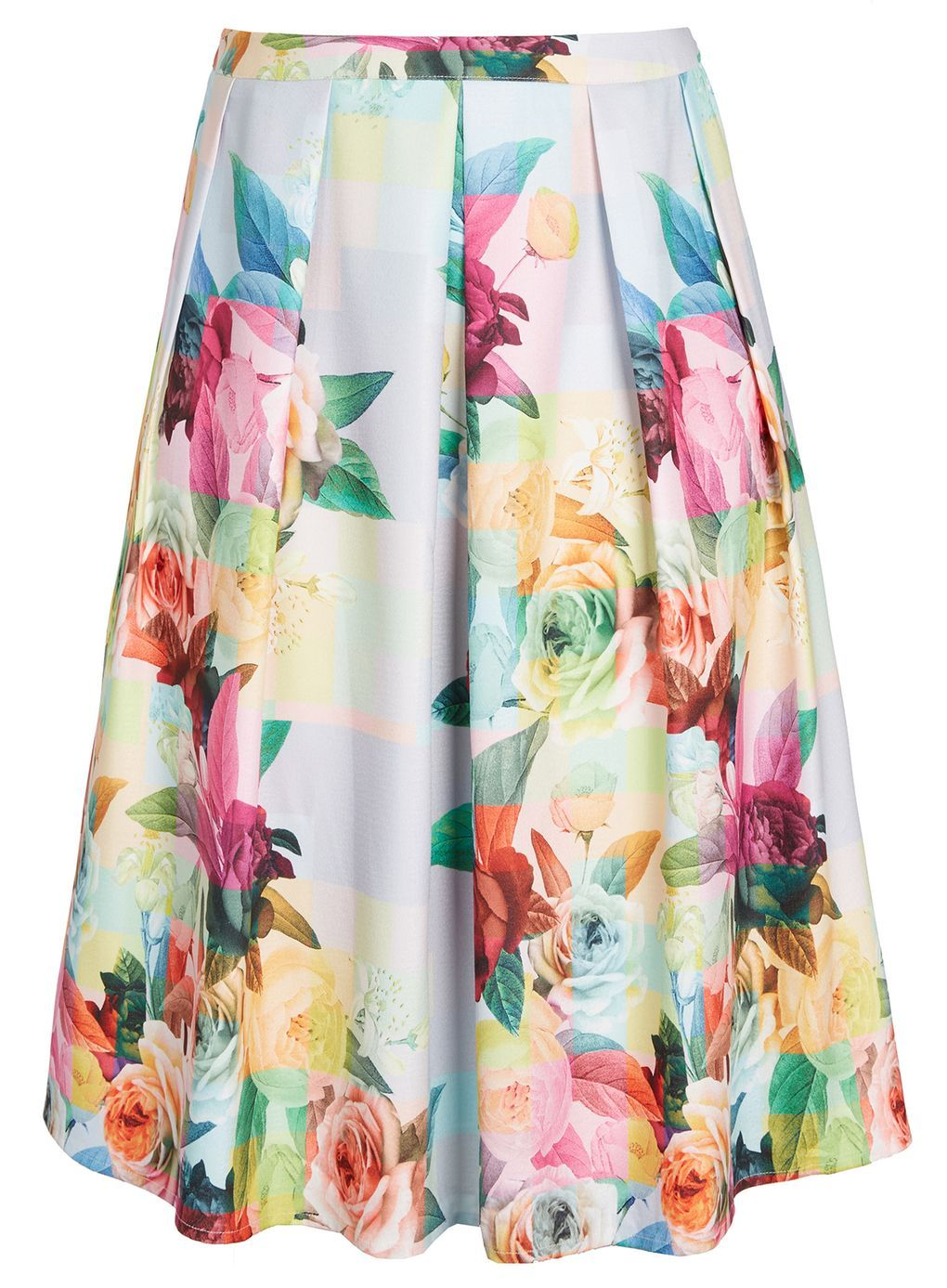 f9df87b1ee City Chic Ivory Floral Print Skirt | Style Me Up | Fashion, Floral ...