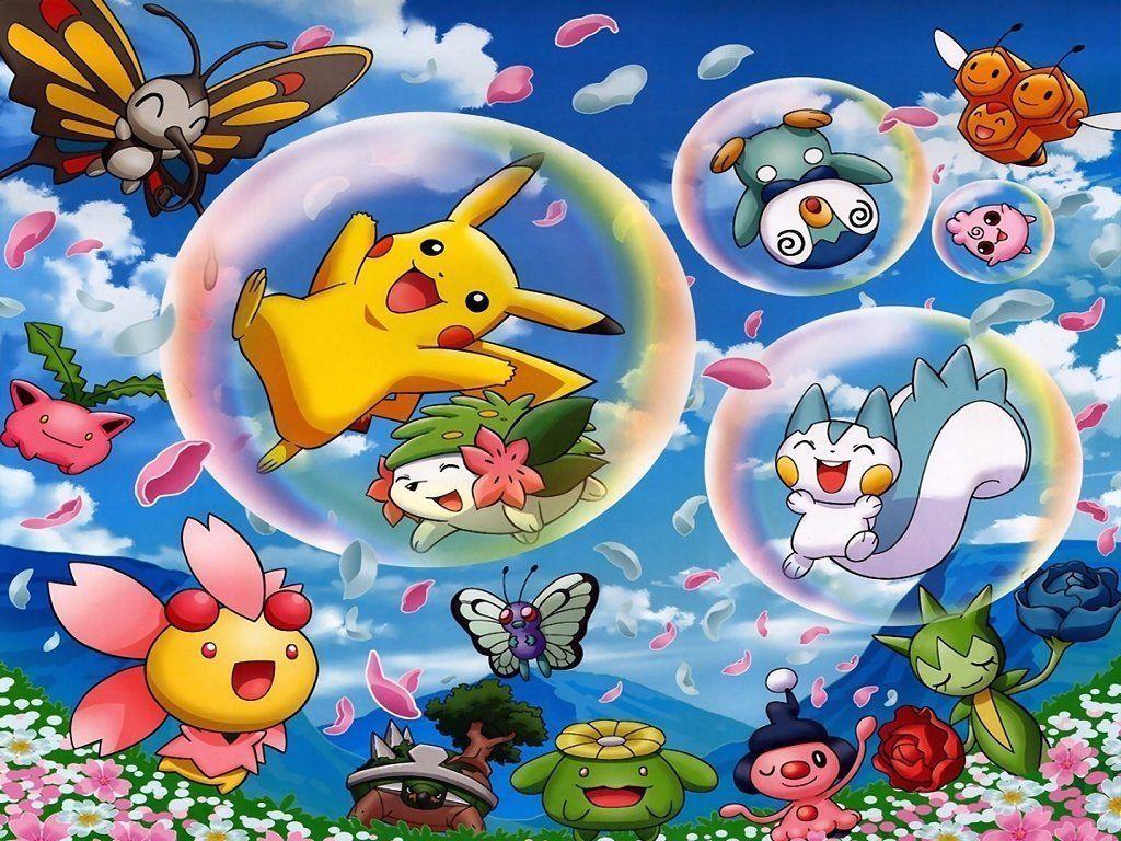 Cute pokemon background wallpaper cute pokemon