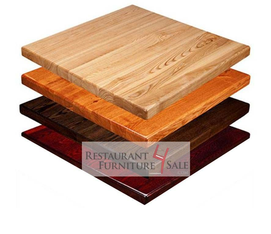 Amish Built Economy Solid Wood Restaurant Top For Sale 24 By 24 Inch Square 1 Inch Thick Woods Restaurant Restaurant Table Tops Reclaimed Wood Restaurant