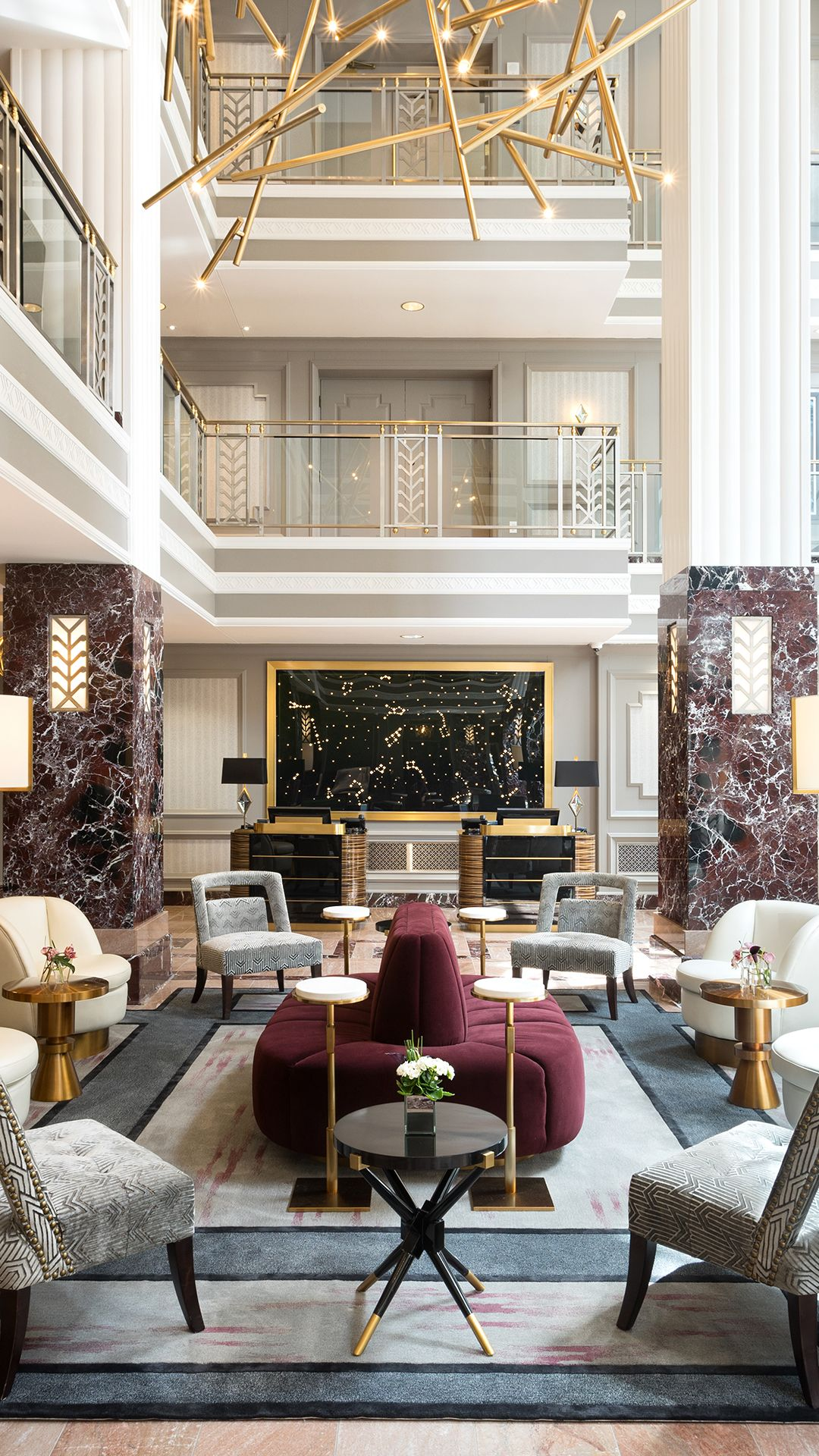 6 Must Visit Historic Hotel Lobbies The Scout Guide Luxury Hotels Interior Modern Hotel Lobby Hotel Lobby Design
