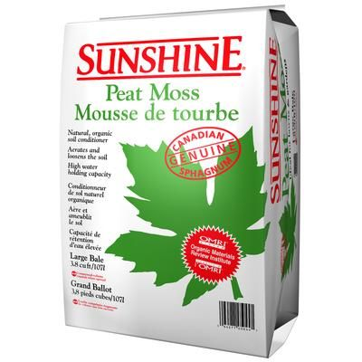 SUNSHINE - SS RETAIL PEAT MOSS 3.8 CFC - 301000-3.8 - Home Depot ...