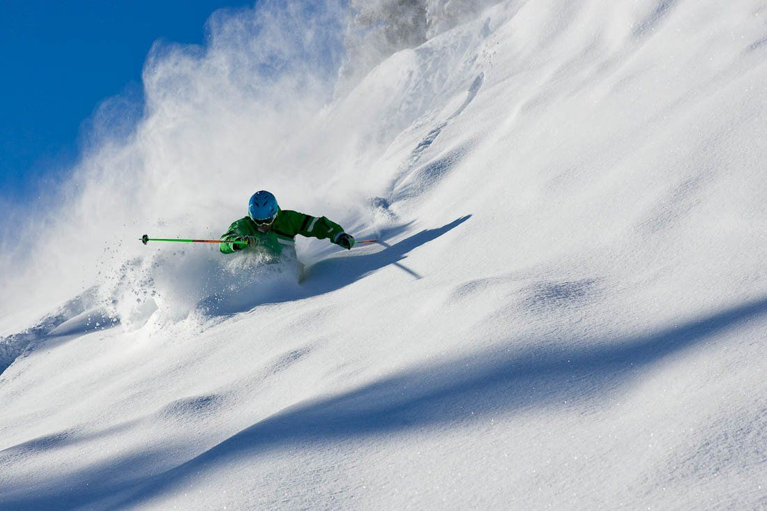 Loving That Fresh Powder Skiing Luxury Mountains