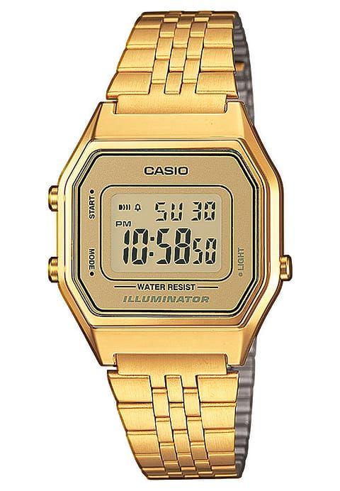Casio Digitaluhr Gold Zalando De Damenuhren Casio Uhr Digitaluhr