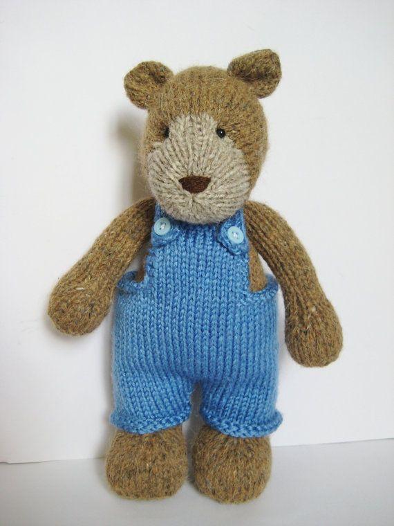 Teddy Bear knitting pattern | Crochet and Knitting | Pinterest ...