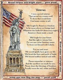 Top Veterans Day Thank You Poems