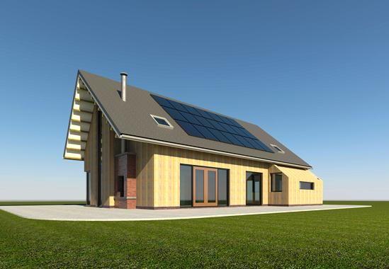 Houten moderne schuurwoning woonsubliem huis bouwen duurzaam bouwen pinterest barn - Huis architect hout ...