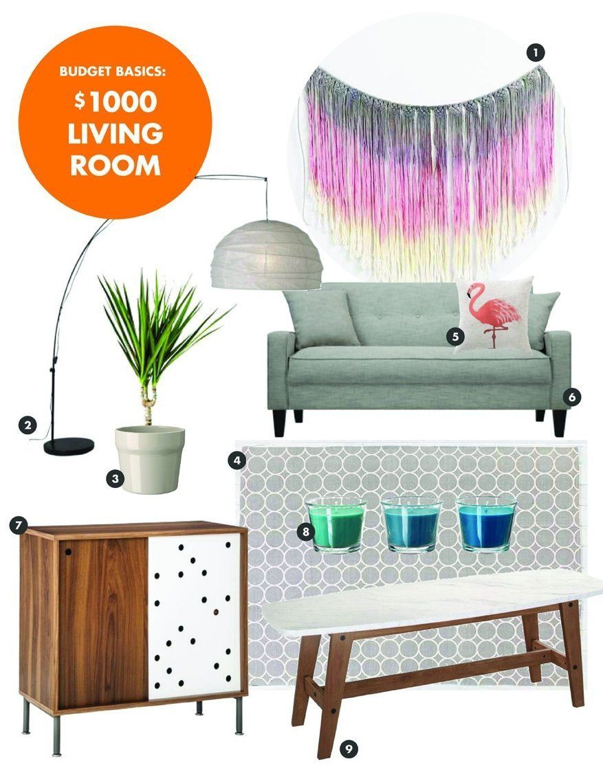 Budget Basics A Great Looking Living Room Under 1000 Quality Living Room Furniture Living Room Furniture Living Room Designs