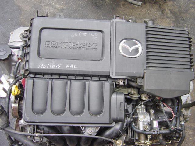 mazda verisa двигатель
