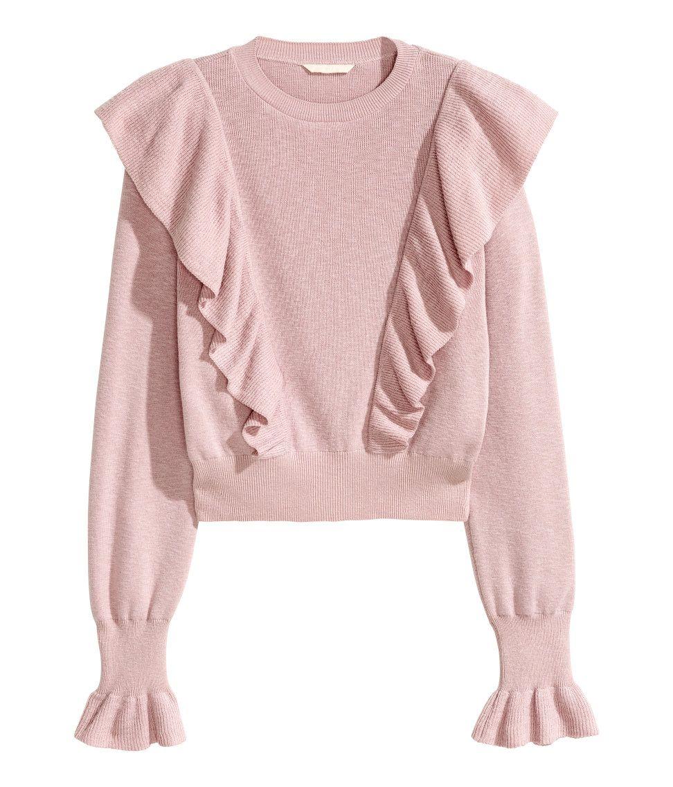 Ruffled Sweater  e09cd9f45