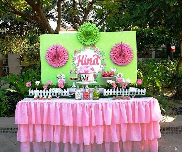 Garden Themed Kitchen Decor: Butterfly Garden Themed Birthday Party {Ideas, Supplies
