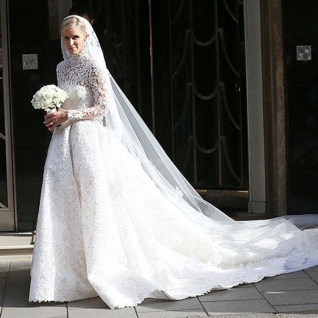 Grace Kelly Inspired Wedding Gowns: Nicky Hilton Says Grace Kelly Inspired Her Valentino