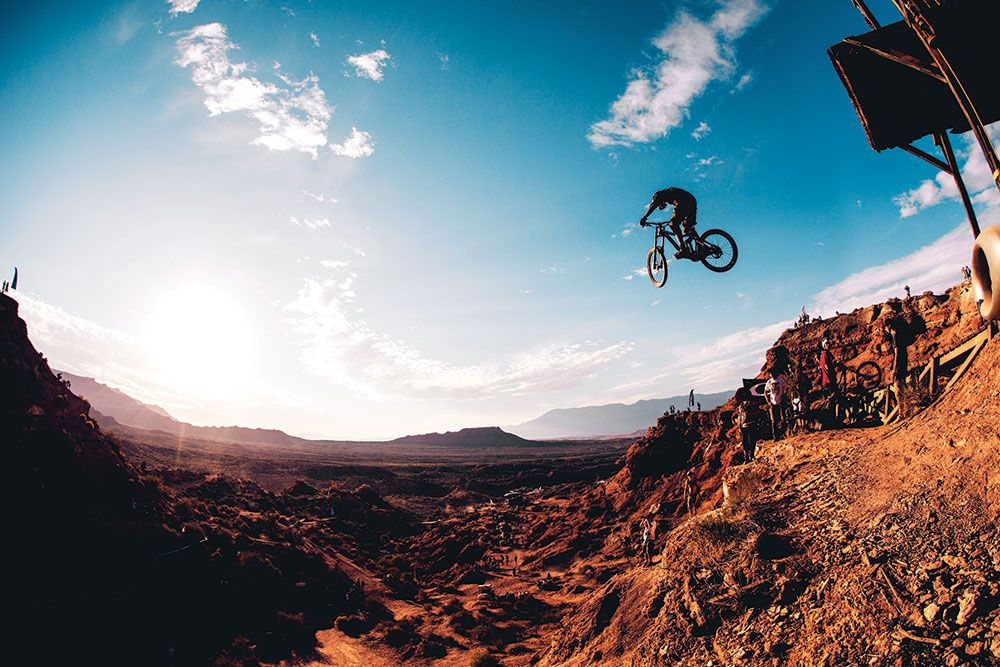 Utah for the Red Bull Rampage!