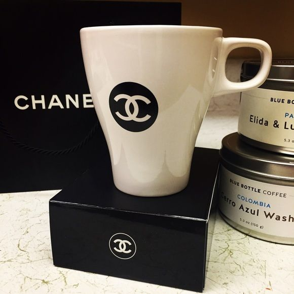 1a5c2cfd192 Coffee Cup Enjoy your coffee with this beautiful Chanel coffee cup. CHANEL  Other