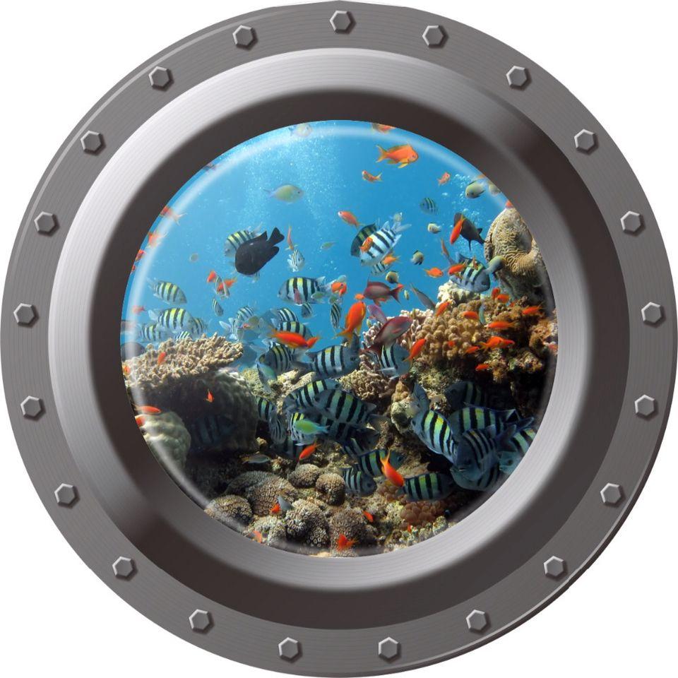 Submarine Porthole Vbs 2016 Clip Art Amp Scenes Fish