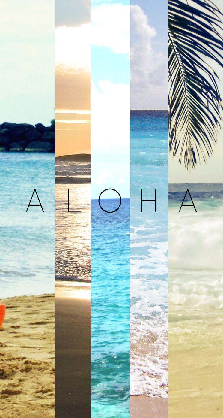 Aloah iphone wallpaper Achtergrond Pinterest