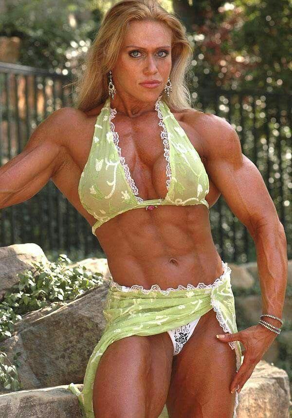 Colette Nelson  Bodybuilding, Muscular Women, Muscle Girls-2058
