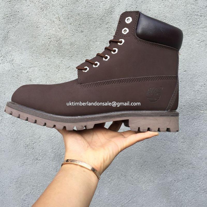 81c14a16d UK Timberland Women Basic 6 Inch Premium Waterproof Boot Dark-Brown £ 72.79