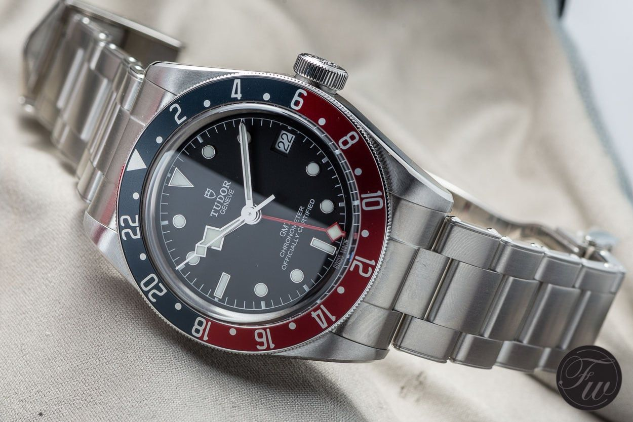 4a58cf7ec210 The Tudor Black Bay GMT - the Baselworld 2018 Shocker Rolex Submariner