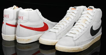 ... Nike Blazer - one of the first popular basketball shoes.