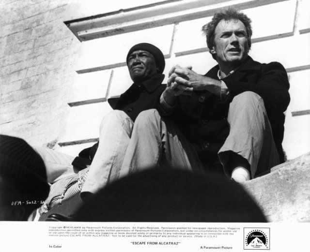 Escape From Alcatraz Clint Eastwood Cinema Movies Movies