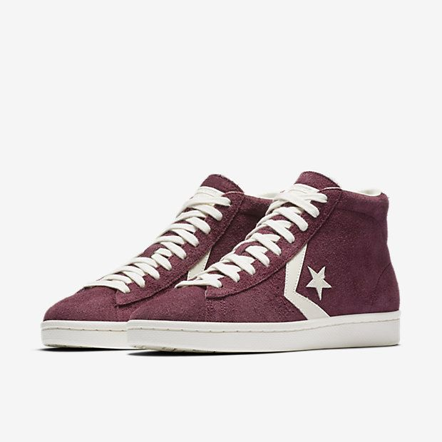 2e474aa5ae8 Converse Pro Leather Vintage Suede High Top Men s Shoe