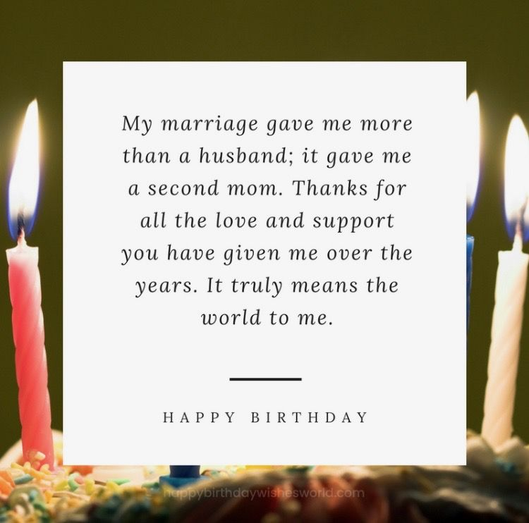 Happy Birthday MotherInLaw (With images) Birthday