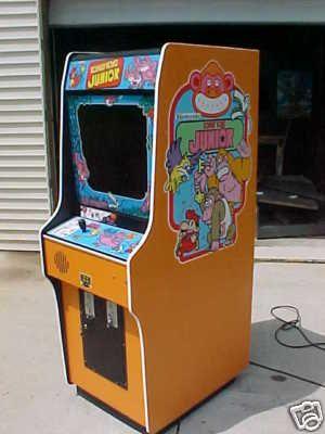 Donkey Kong Jr Arcade Cabinet Arcade Cabinet Retro Video Games