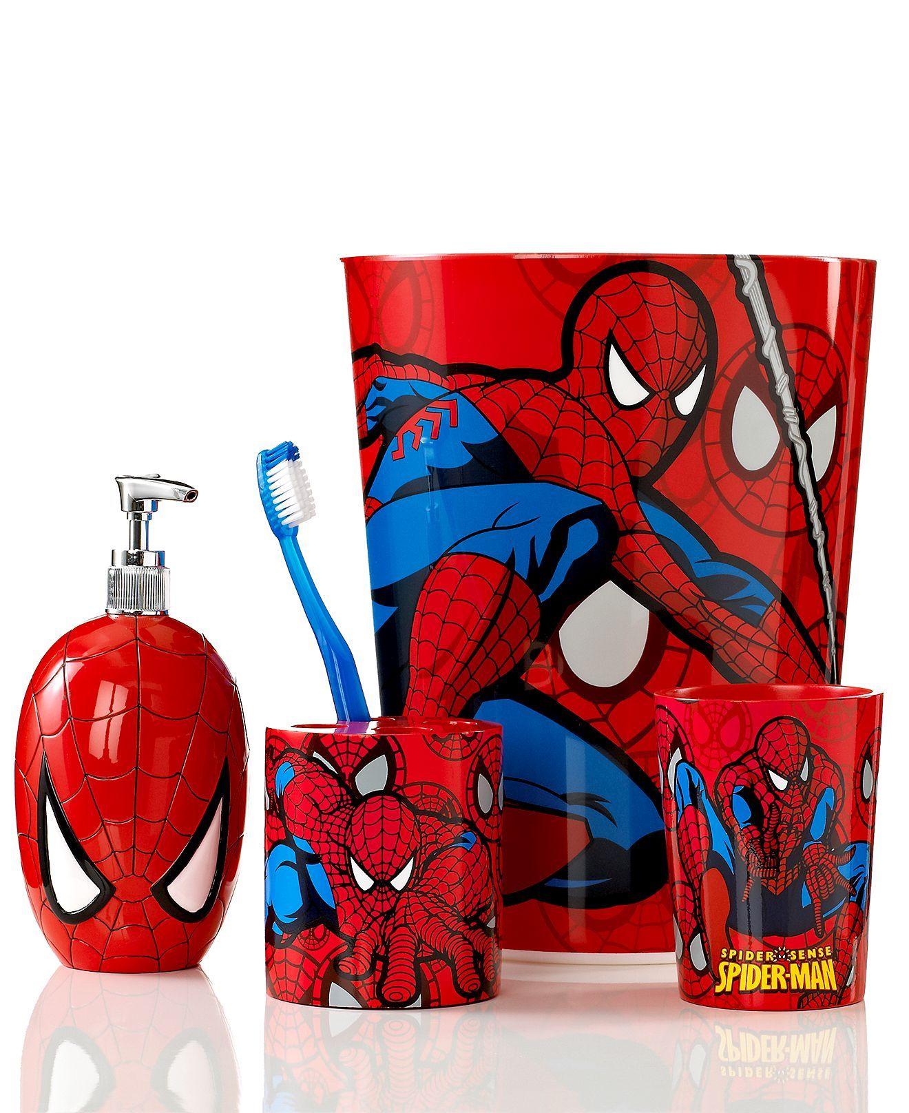 Marvel Bath Accessories Spider Man Sense Collection Kids