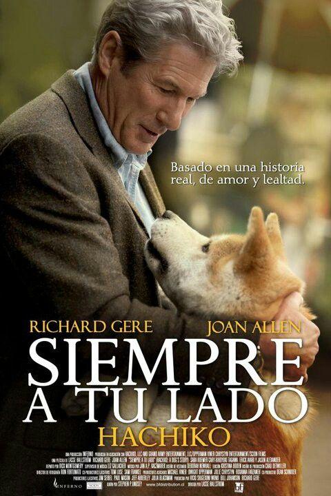 Siempre A Tu Lado Hachiko Hachi A Dog S Tale 2009 Super Movie Inspirational Movies Film Books