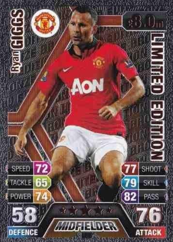 Match Attax 2013/2014 Ryan Giggs Manchester United 13/14 ...Ryan Giggs 2013 2014