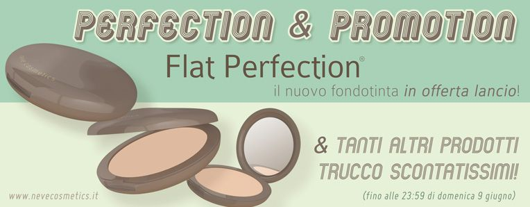 [News] NEVE COSMETICS - Perfection & Promotion sconti del 25%