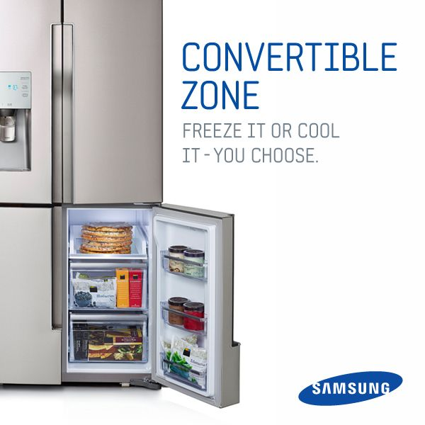 Don T Sacrifice Fresh Food Just To Make More Room The Convertible Zone Switches From Refrigerator Freezer Effortlessly