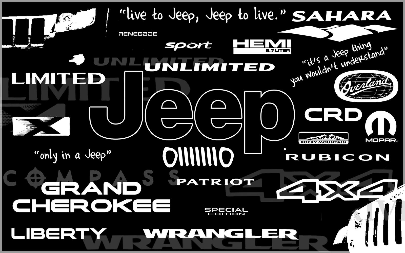 Free Download Jeep Logo Hd Wallpaper For Desktop 4614 Full Size
